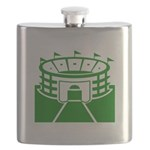 Green Stadium Flask