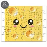 Cute Kawaii Happy Cheese Puzzle