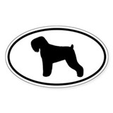 Black Russian Terrier Decal