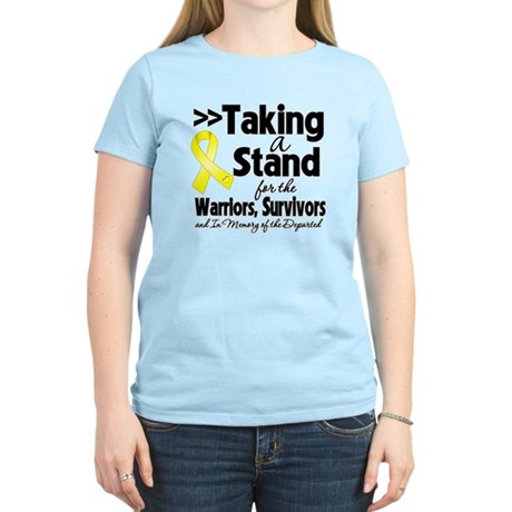 Stand Testicular Cancer Women's Light T-Shirt