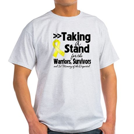 Stand Testicular Cancer Light T-Shirt
