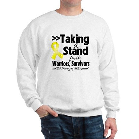 Stand Testicular Cancer Sweatshirt