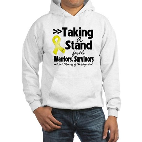 Stand Testicular Cancer Hooded Sweatshirt