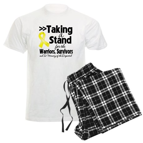 Stand Testicular Cancer Men's Light Pajamas
