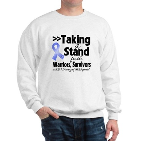 Stand Stomach Cancer Sweatshirt