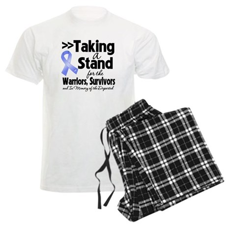 Stand Stomach Cancer Men's Light Pajamas