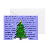 Nurse Christmas Greeting Cards