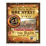 2012 Rails to Ales Brewfest Small Poster