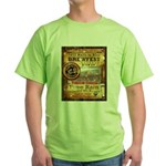 2012 Rails to Ales Brewfest Green T-Shirt