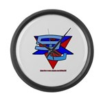 SxL Logo Large Wall Clock