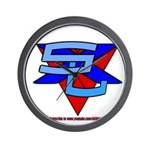 SxL Logo Wall Clock