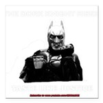 The Dork Knight Rises Square Car Magnet 3