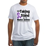 Stand Pancreatic Cancer Fitted T-Shirt
