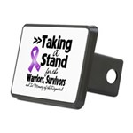 Stand Pancreatic Cancer Rectangular Hitch Cover