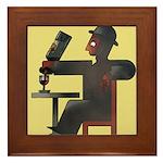 Wineaux Framed Tile