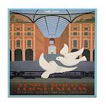 Travel Poster, Milan Tile Coaster