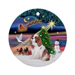 Xmas Magic / Cavalier Ornament (Round)