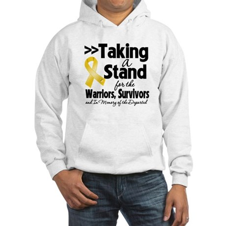 Stand Neuroblastoma Hooded Sweatshirt