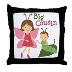 Big Cousin - Butterfly Throw Pillow