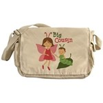 Big Cousin - Butterfly Messenger Bag