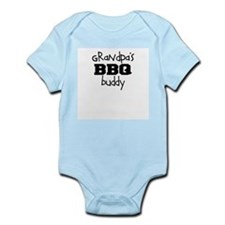 Grandpas BBQ Buddy Infant Bodysuit