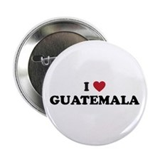 "I Love Guatemala 2.25"" Button"
