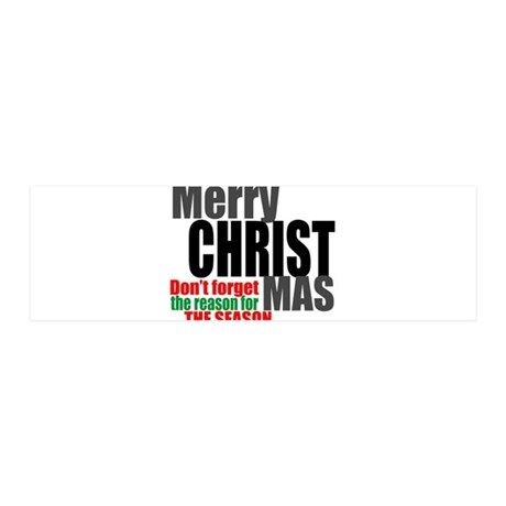 Merry Christmas 36x11 Wall Decal