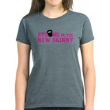 Strong is the New Skinny - Pink Kettlebell Tee