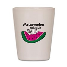 Watermelon Makes Me Smile Shot Glass