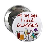 I need glasses 2.25&quot; Button
