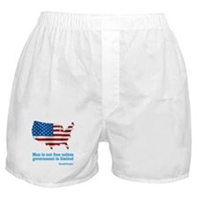 Ronald Reagan Quote Boxer Shorts