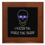 Watch You Sleep Framed Tile