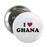 "I Love Ghana 2.25"" Button"