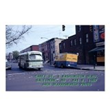 BTC Brill Bus Postcards (Package of 8)