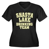 Shasta Lake Drinking Team Women's Plus Size V-Neck