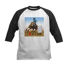 I Love Barrel Racing Tee