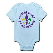 Mardi Gras 2014 (Party) Infant Bodysuit