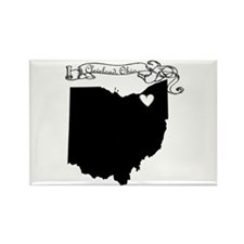 Cleveland Ohio Rectangle Magnet (10 pack)