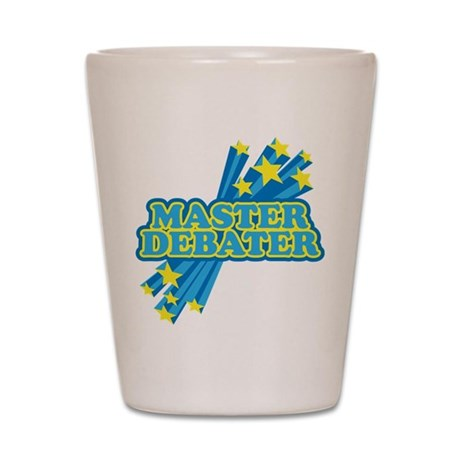 Master Debater Shot Glass