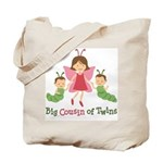 Big Cousin of Twins - Butterfly Tote Bag