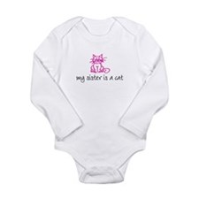 Unique Cat girl Long Sleeve Infant Bodysuit
