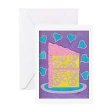 Peace of Cake Greeting Card