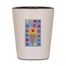 Ice Cream Clown Shot Glass