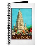 India Travel Poster 8 Journal