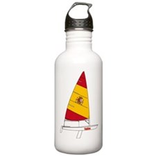 Spain Dinghy Sailing Water Bottle