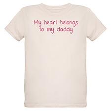 My heart belongs te my daddy T-Shirt