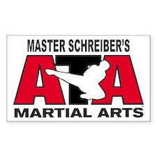 Schreiber's ATA Martial Arts Rectangle Bumper Stickers