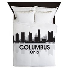 Columbus Skyline Queen Duvet