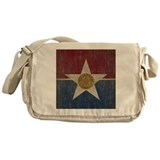 Vintage Dallas Flag Messenger Bag
