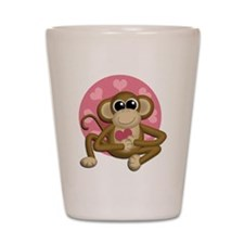Love Monkey Shot Glass